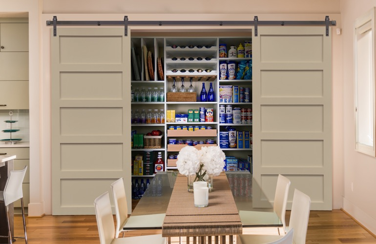 Pantry Sliding Barn Doors In Gainesville, FL