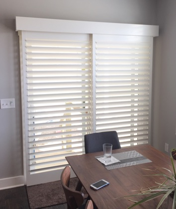 Gainesville bypass sliding door shutters