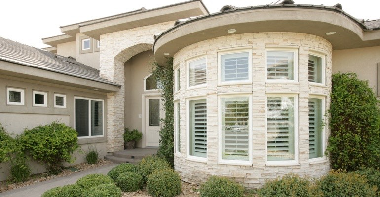 Exterior shutters Gainesville home