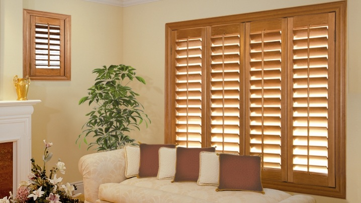 wood shutters Gainesville parlor
