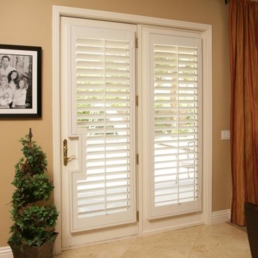 Patio French Door Shutters Gainesville