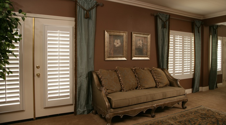 French Door Shutters In Gainesville Sunburst Shutters
