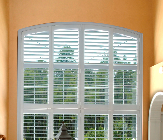Arched Window Shutters In Gainesville, FL