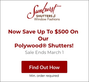 Sale on Gainesville Polywood Shutters