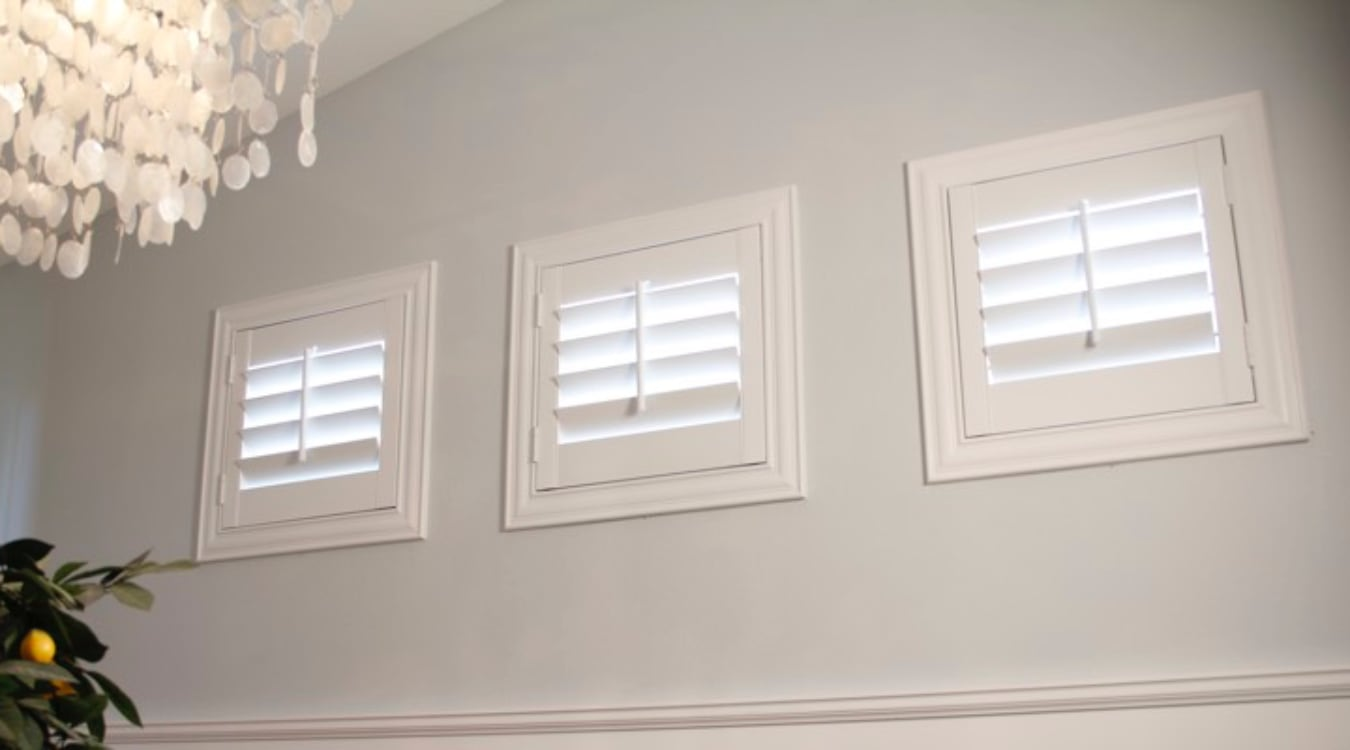 Gainesville casement window shutters