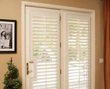 Gainesville french door shutters