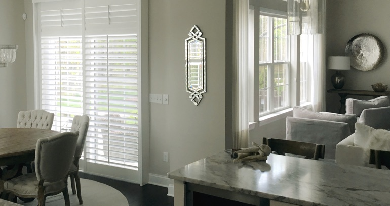 Gainesville kitchen sliding door shutters