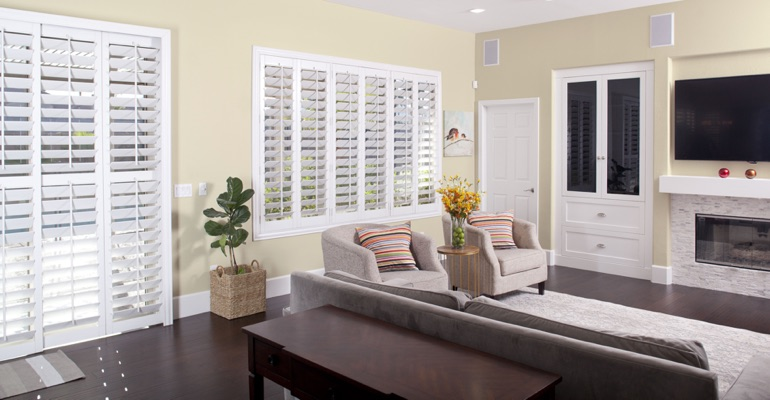 Cleaning Polywood plantation shutters in Gainesville is a breeze
