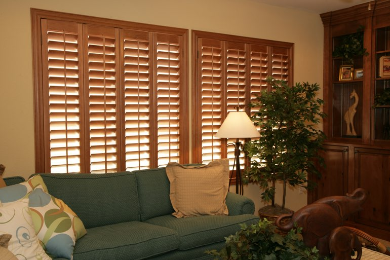 Ovation Shutters In A Gainesville Living Room.