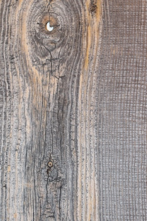 Reclaimed Wood Shutters Sample - Grey with Knot