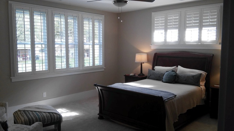 "Sunburst Shutters Gainesville Shares ""Share Your Shutters"" Winner Image"