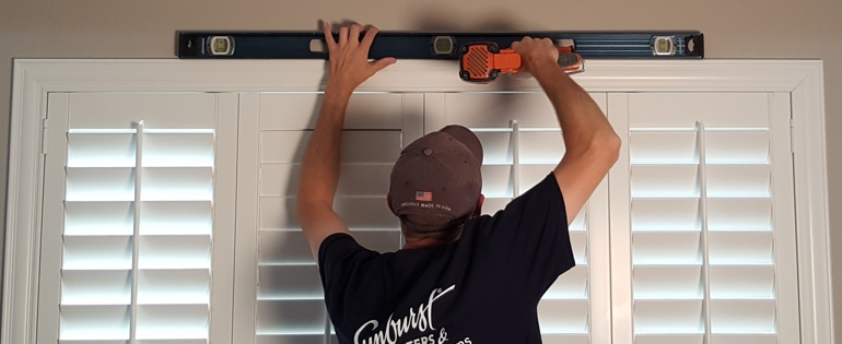 Gainesville shutter installer window measuring