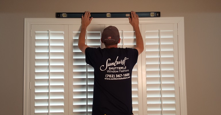 Gainesville window shutter measurement