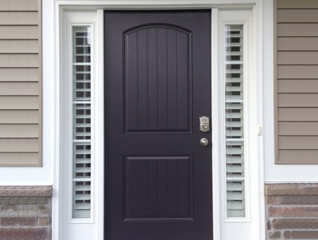 Gainesville front door shutters