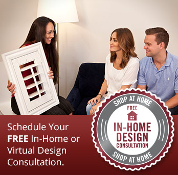 Schedule a shutter consultation in Gainesville