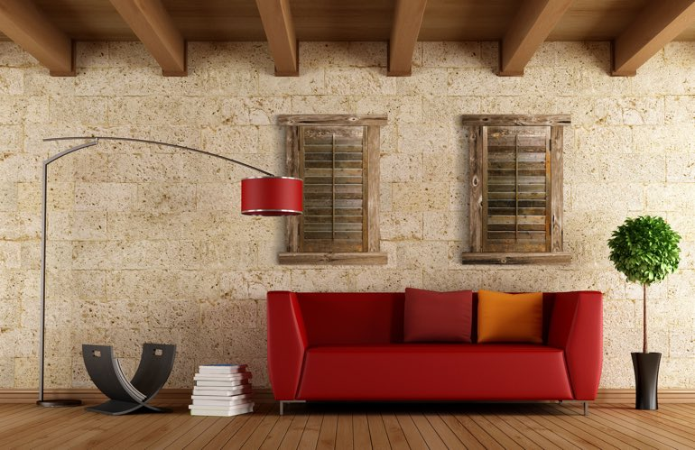 Newest Window Treatment Trends In Gainesville: Reclaimed Wood Shutters